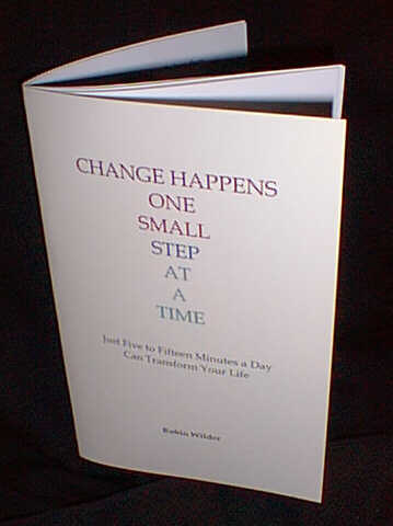 Change Happens One Small Step At A Time Booklet